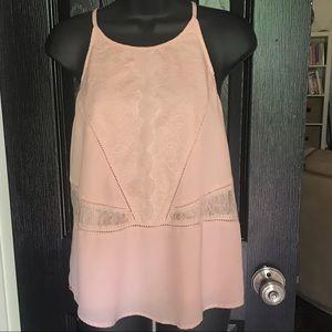 Brixton Ivy Stitchfix Size M Halter Top Blush Lace